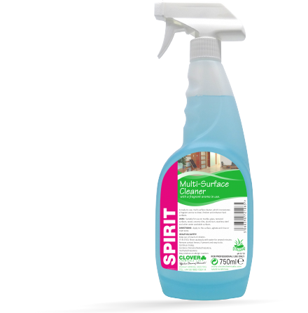 Clover Spirit 'RTU' 750ml - Fragrant Multi-Surface Cleaner